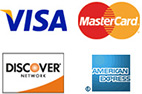 All Major Credit Cards are accepted for STD Testing